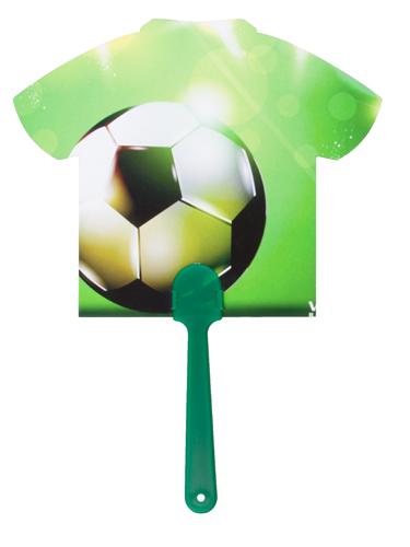 Digibreeze zelený vějíř na zakázku s potiskem