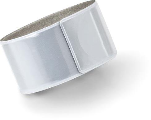 Reflexní náramek matně stříbrný