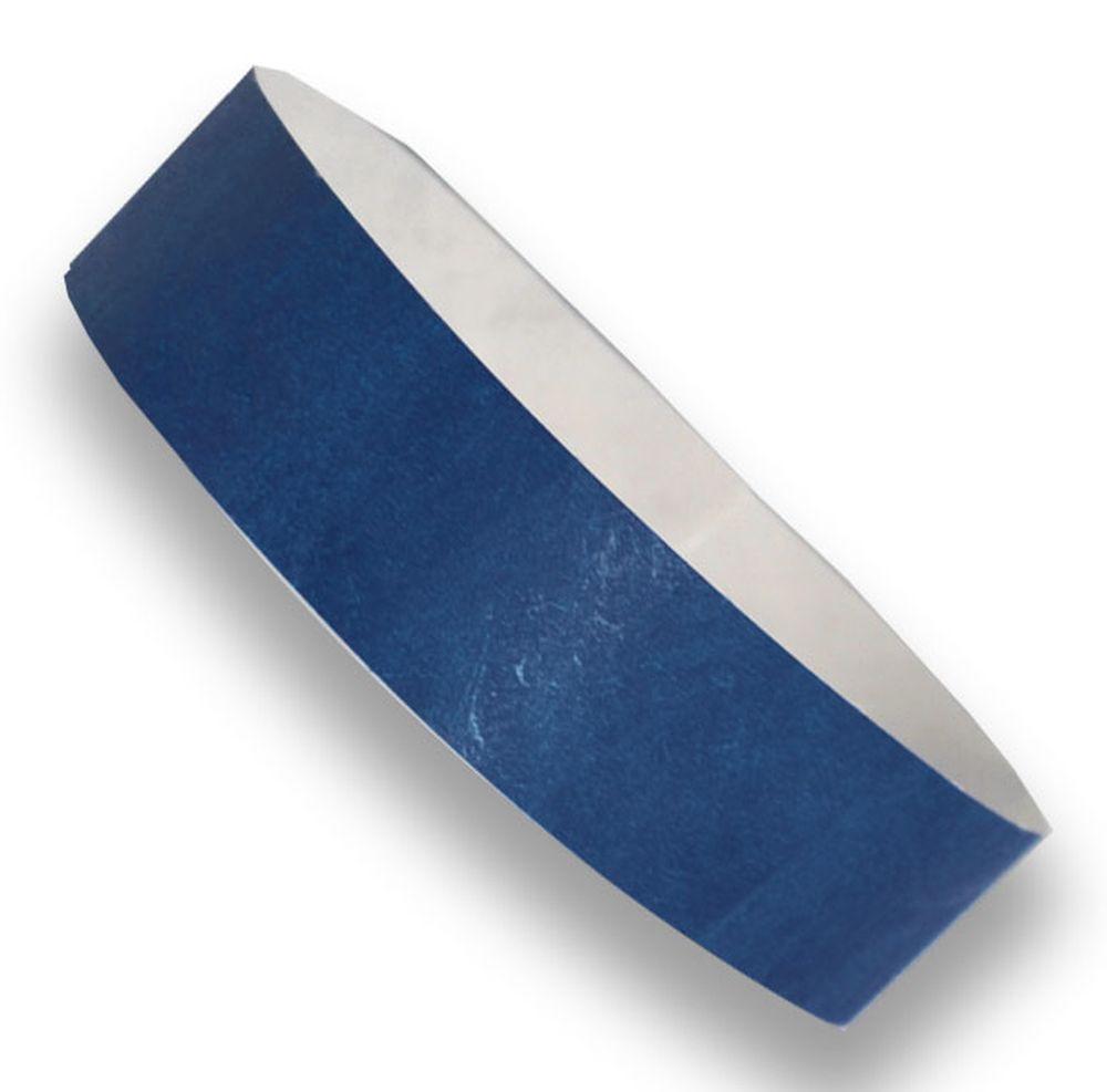 Označovací náramek modrý s potiskem