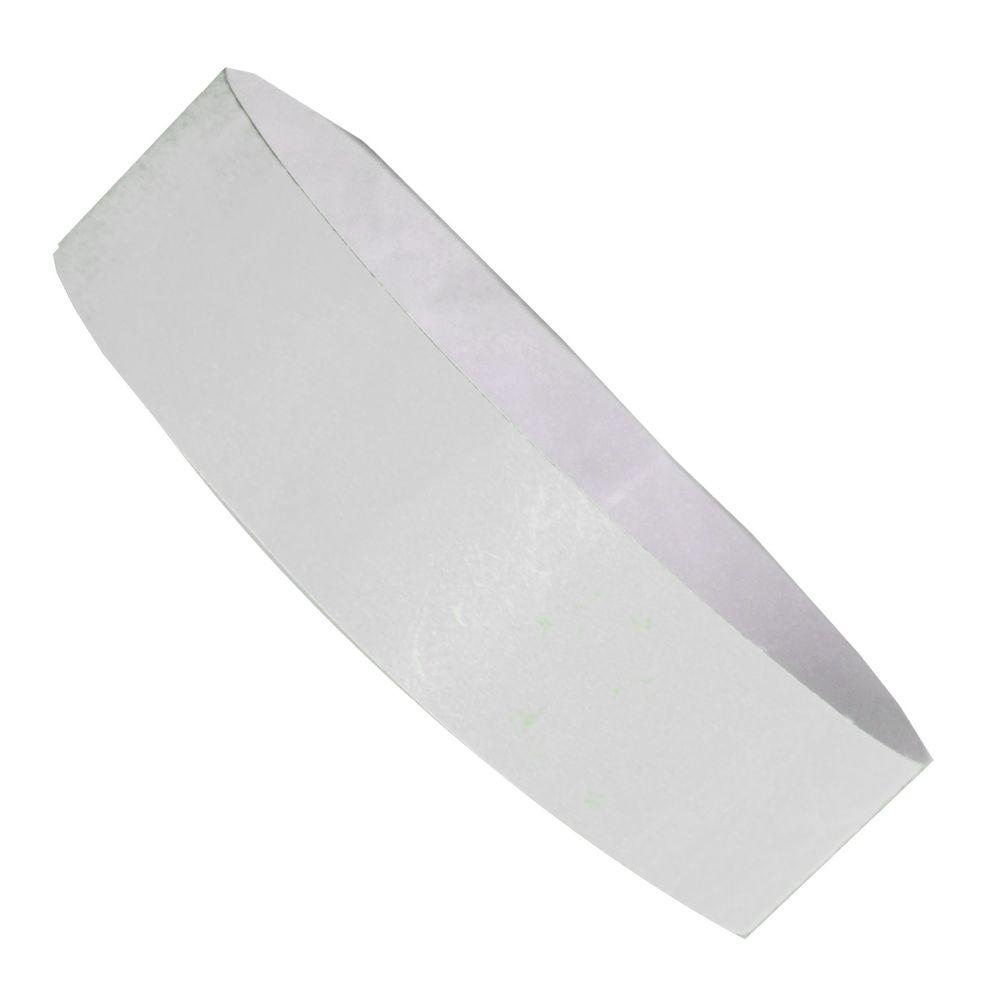 Označovací náramek bílý s potiskem