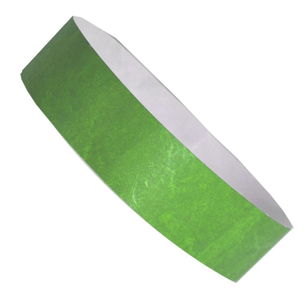 Označovací náramek zelený s potiskem