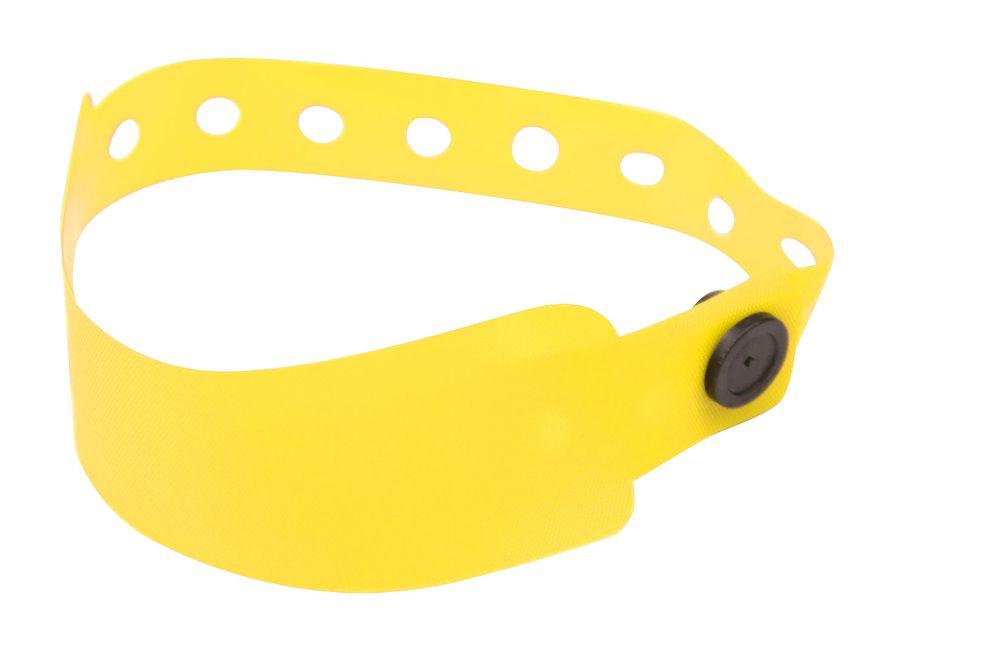 Registrační náramek žlutý