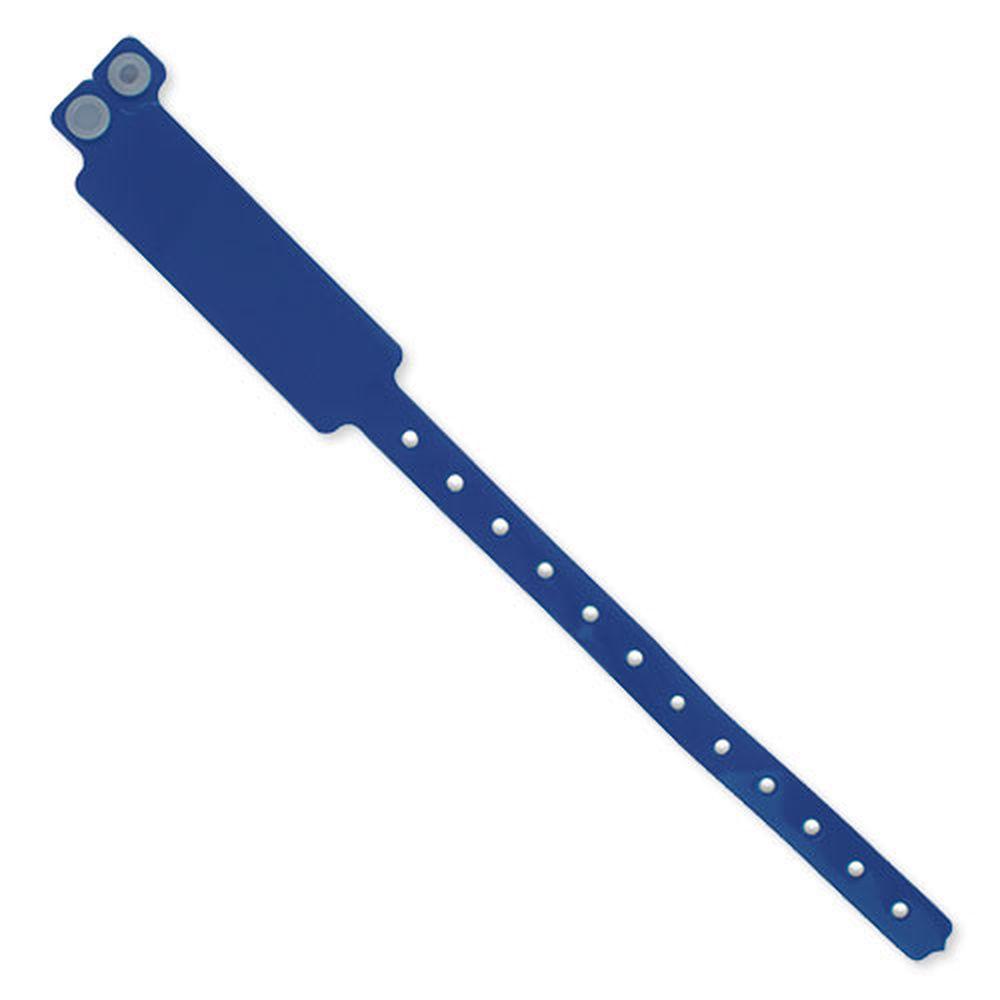 Registrační náramek tmavě modrý