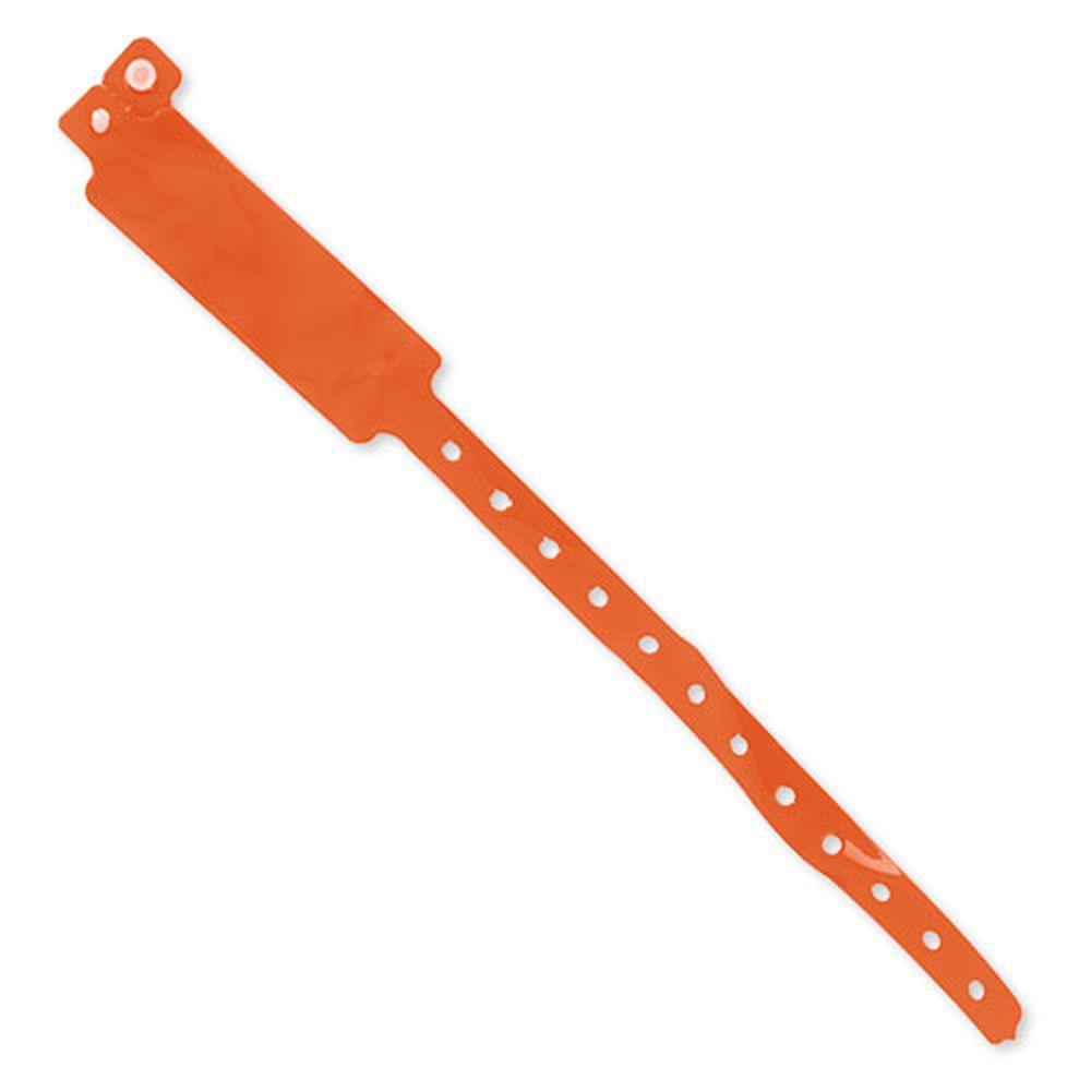 Registrační náramek oranžový