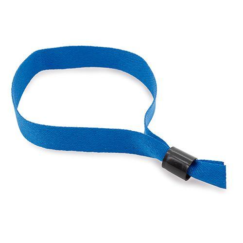 Stahovací náramek modrý s potiskem