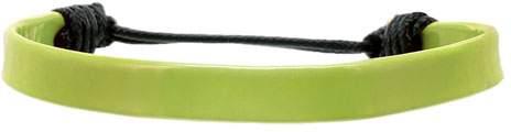 Náramek s uzlíkem, zelená