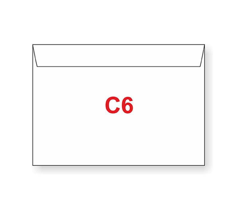 Dopisní obálky C6 s potiskem