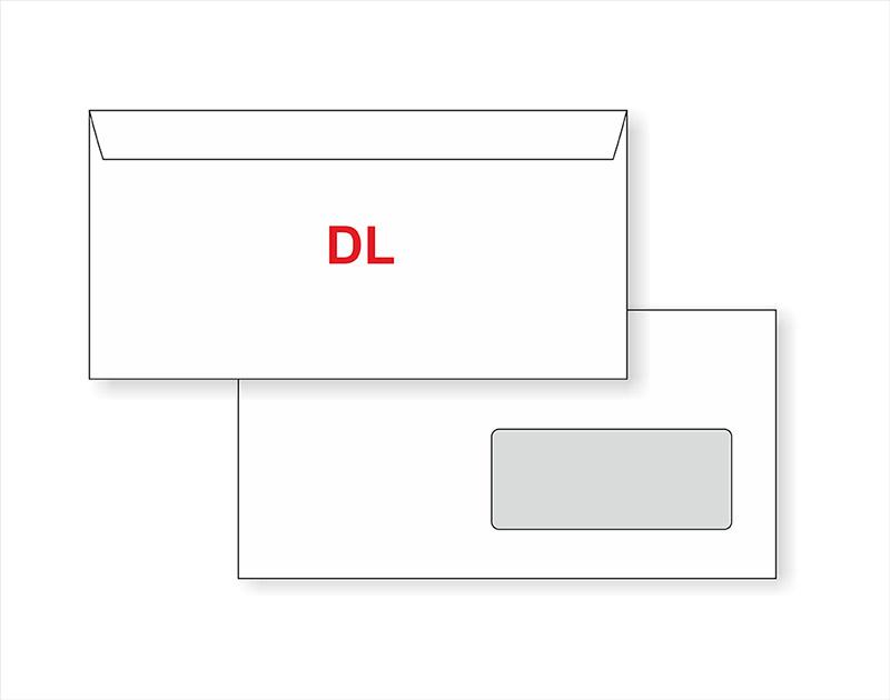 Dopisní obálky DL