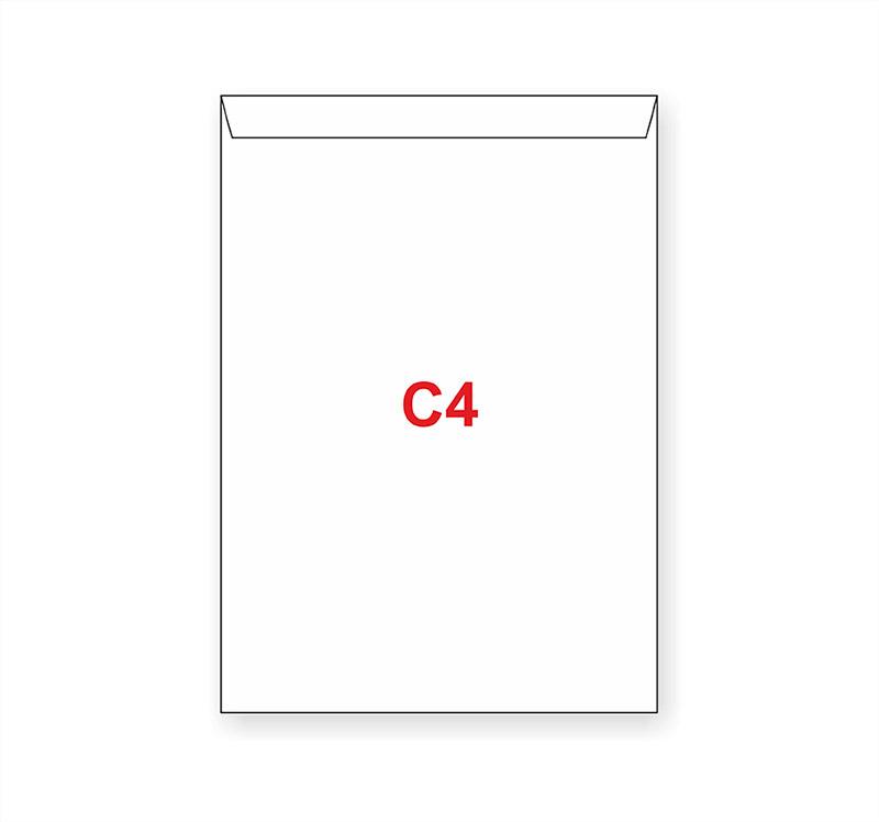 Dopisní obálky C4