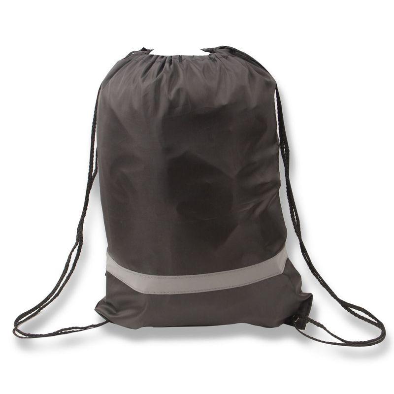 Reflexní batůžek černý