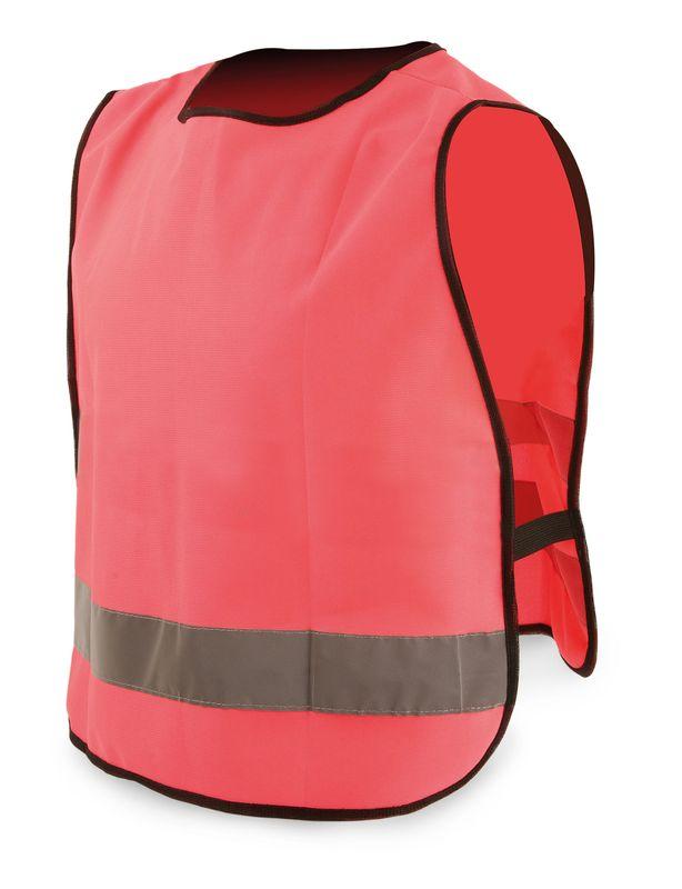 Dětská reflexní vesta růžová
