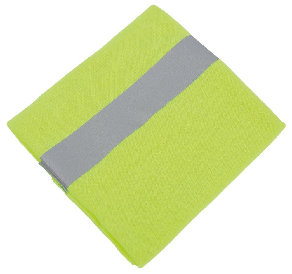 Reflexní multifunkční šátek žlutý