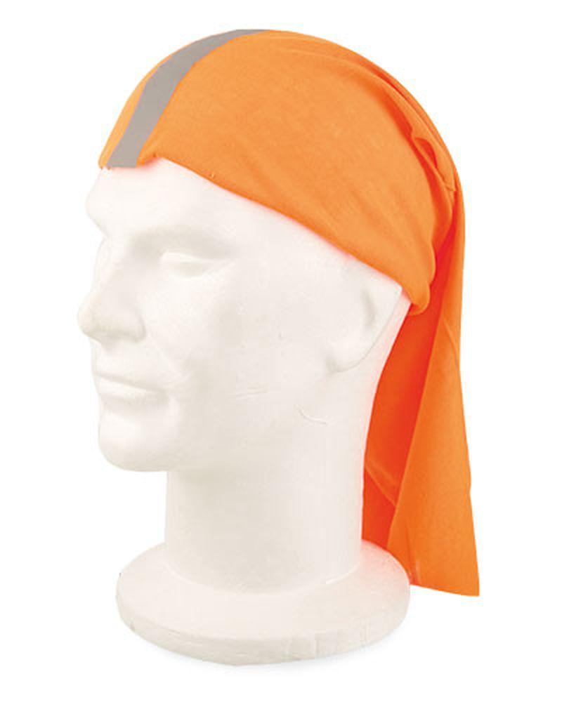 Reflexní multifunkční šátek oranžový