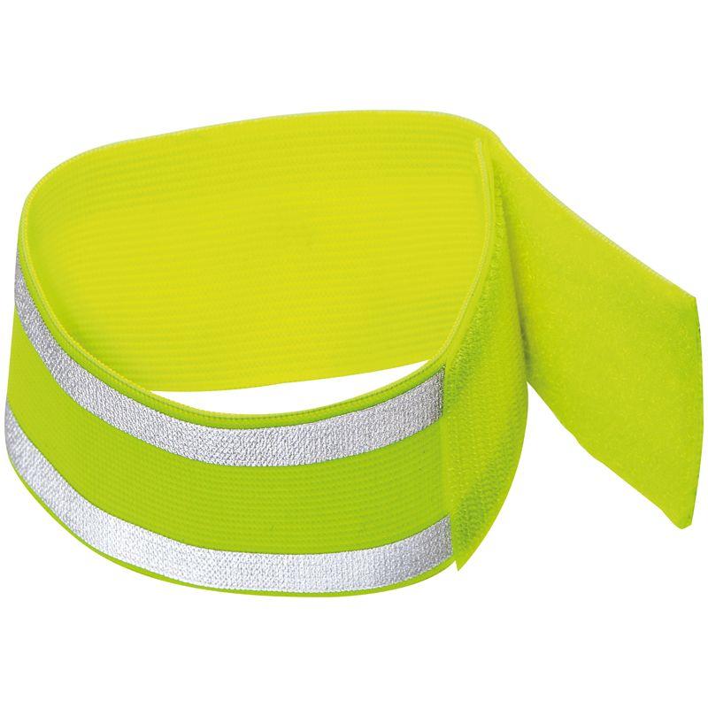 Reflexní páska na paži žlutá