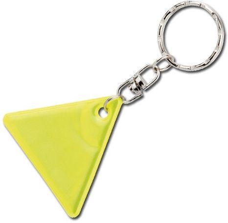 HOWIE plastový přívěsek - reflexní, žlutá