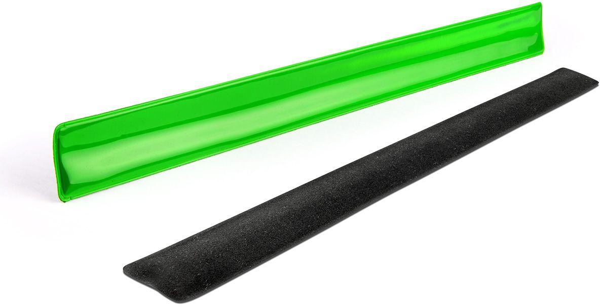 Reflexní náramek BONDO zelená