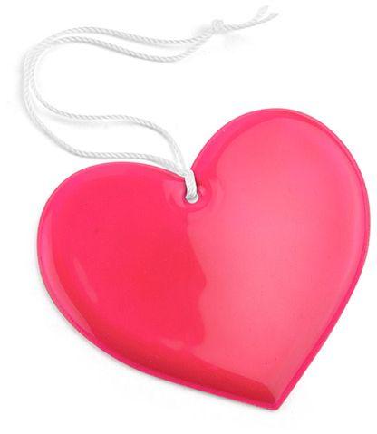 Reflexní přívěšek HEART