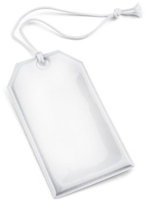 Reflexní přívěšek TAG bílá