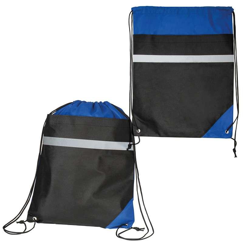 Reflexní stahovací taška