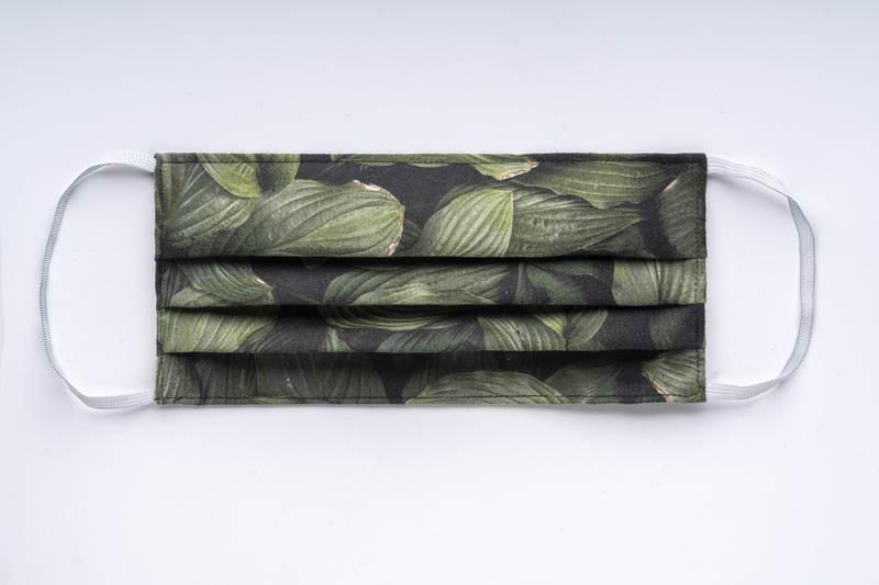Firemní roušky s plnobarevným tiskem, gumička
