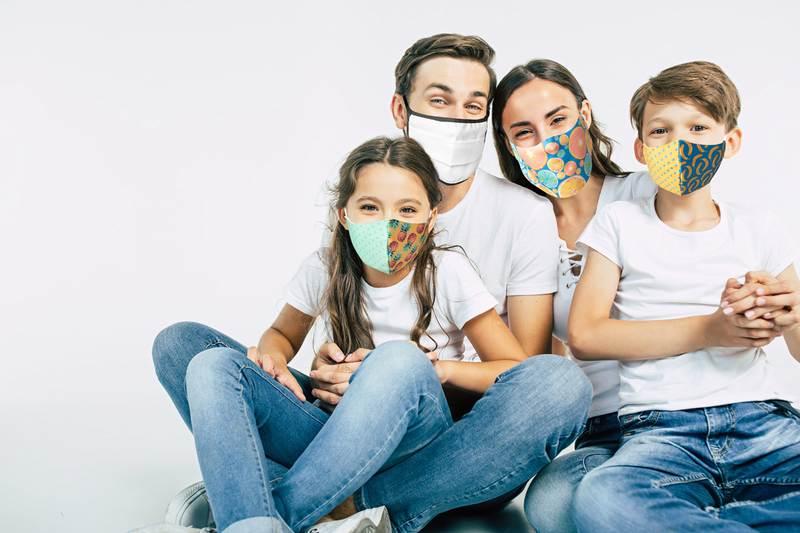 CreaMask Kids zakázková obličejová maska pro děti