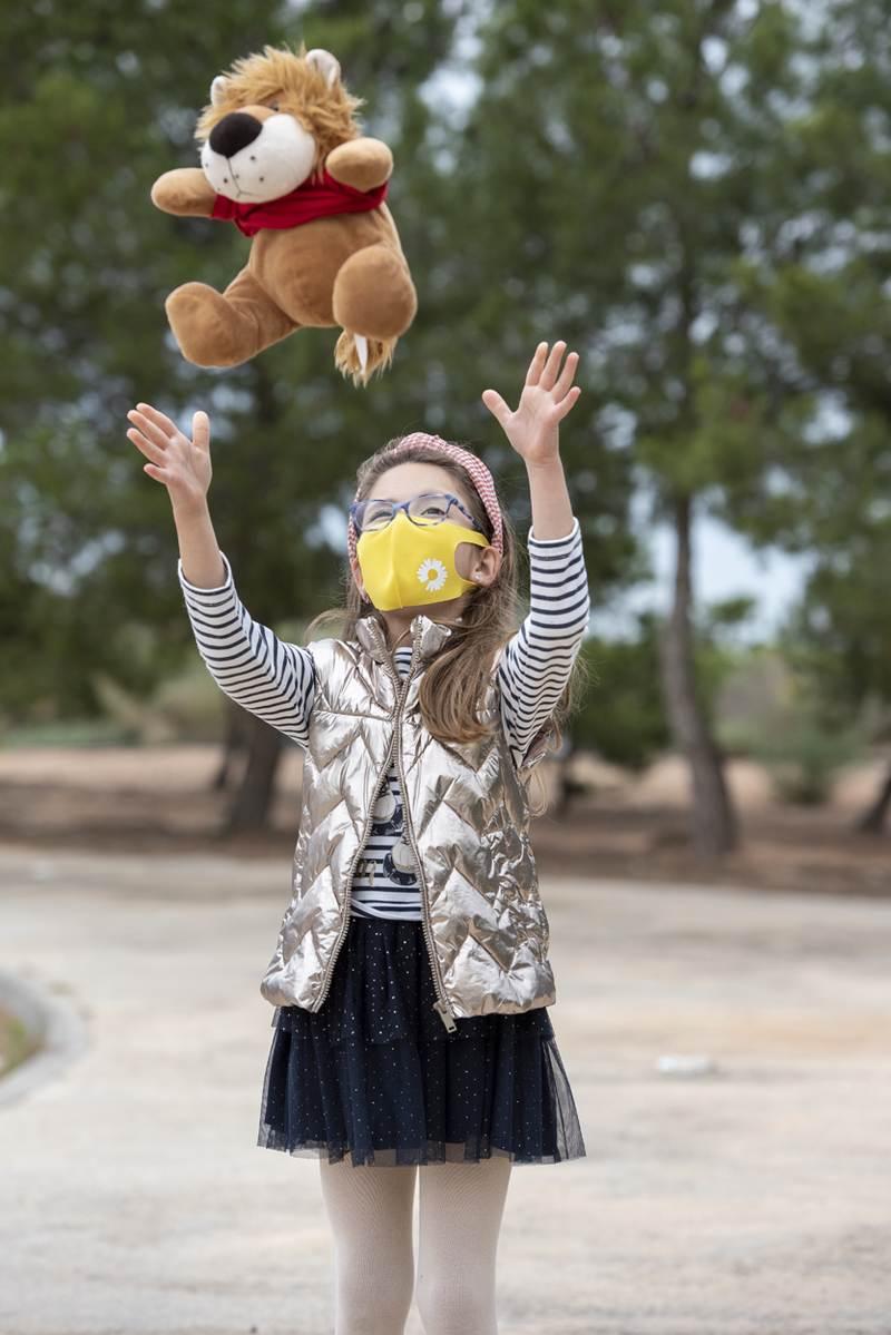 Fent pratelná dětská obličejová maska