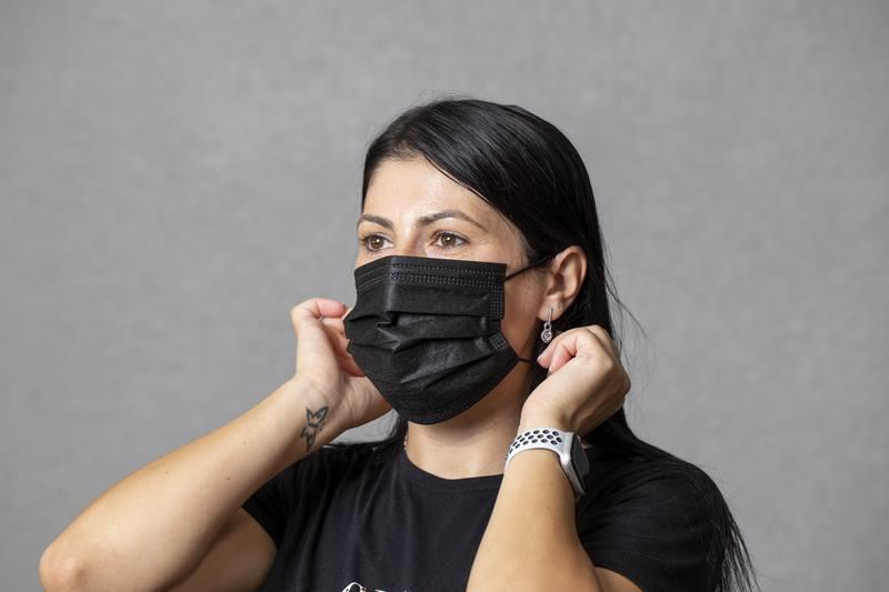 3-vrstvá jednorázová obličejová maska Nombix