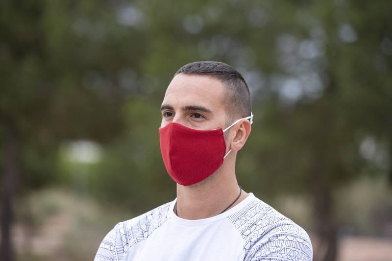 Pratelná obličejová maska Liriax