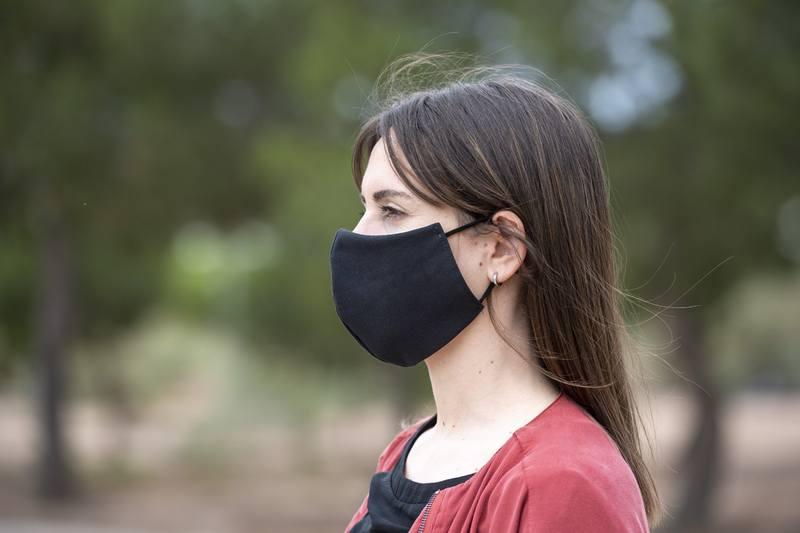Pratelná obličejová maska Plexcom