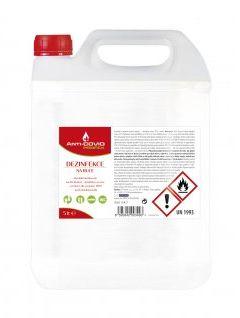 Antibakteriální náplň 5 l