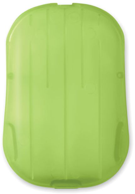 Soap to go Mýdlové listy v obale z PP