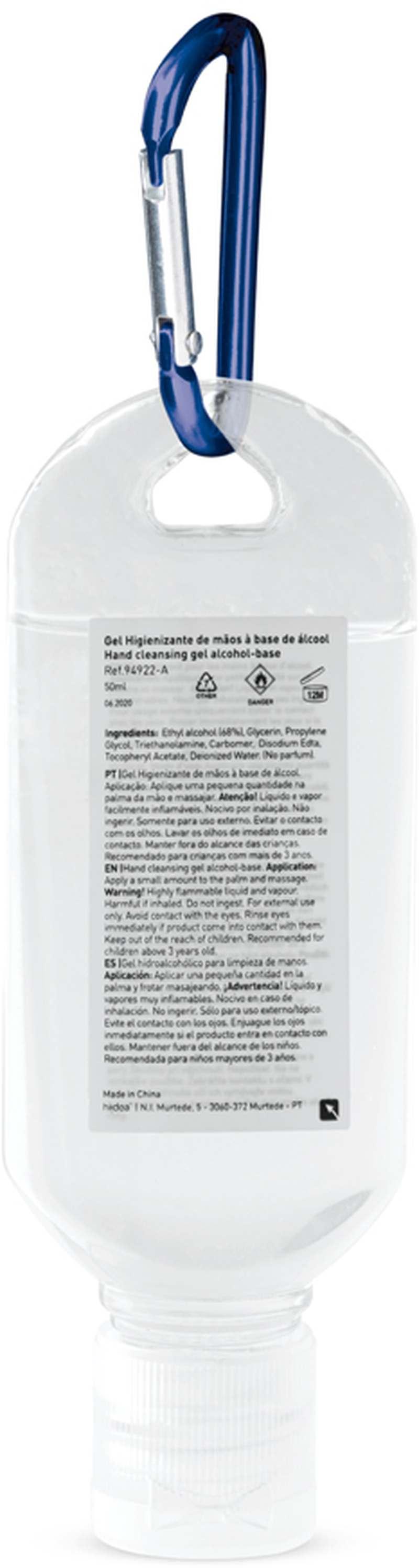 LYZE. Hydratační gel 50 ml s karabinou