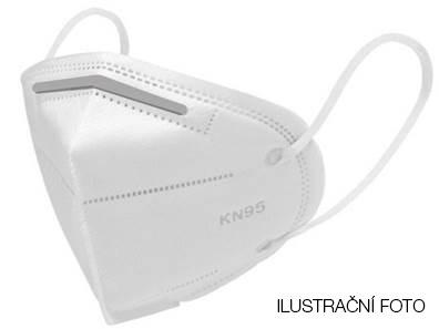 Respirátor KN95 opakovaně použitelná obličejová maska
