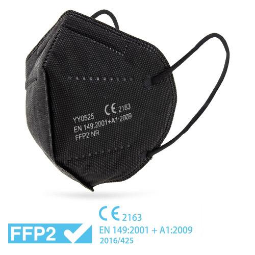 Respirátor FFP2 černý