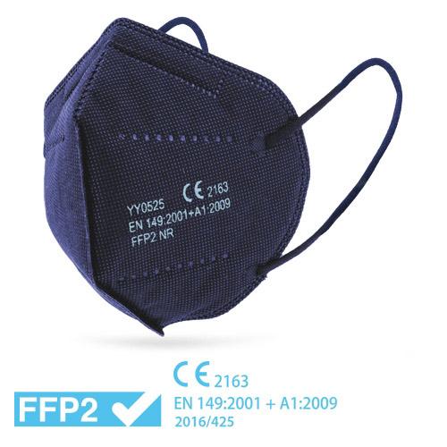 Respirátor FFP2 modrý