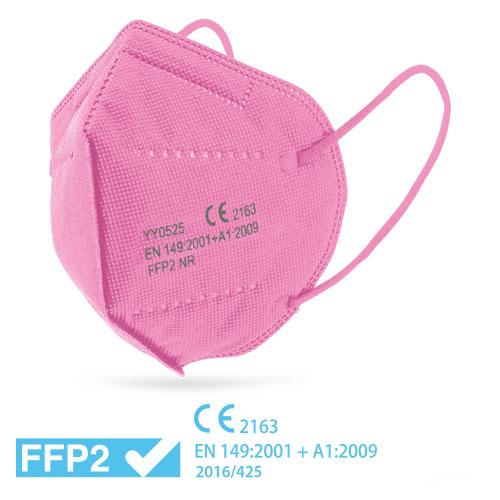 Respirátor FFP2 růžový