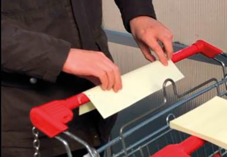 Ochranný obal na košík 50 lístků s jednobarevným potiskem