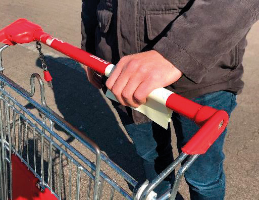 Ochranný obal na košík 50 lístků s čtyřbarevným potiskem