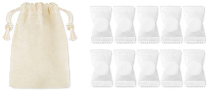 Hands clean Ručníčky v batohu,stlačené