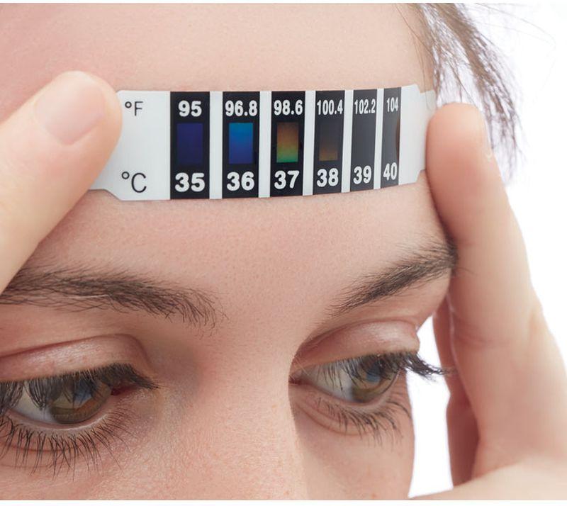 Fever indicator Teploměr na jedno použití