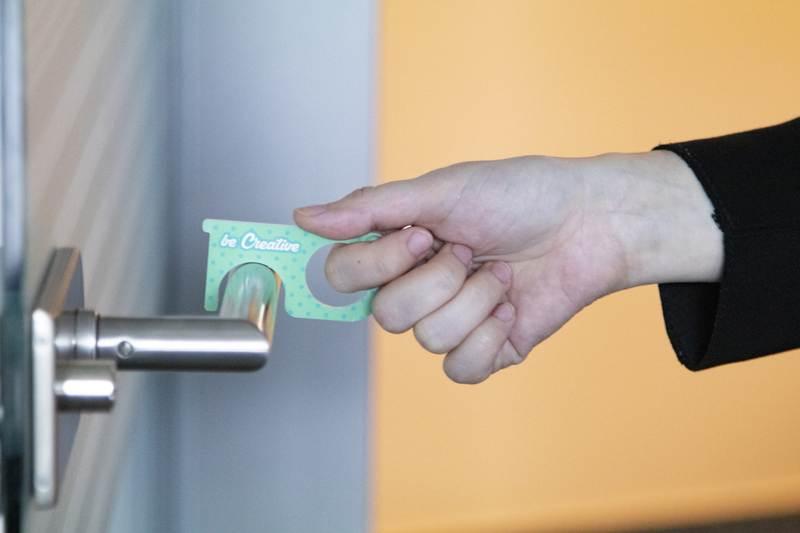 NoTouch Creative hygienický klíč