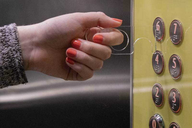 Hygienický klíč NoTouch