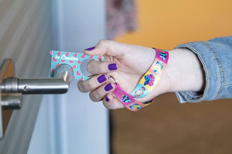 Hygienický klíč NoTouch Wrist Plus