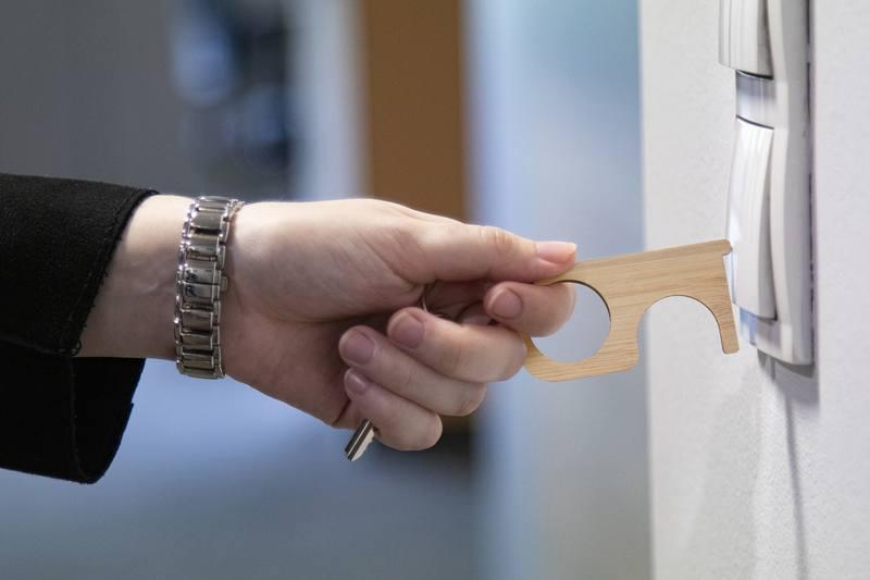 Hygienický klíč NoTouch Bamboo