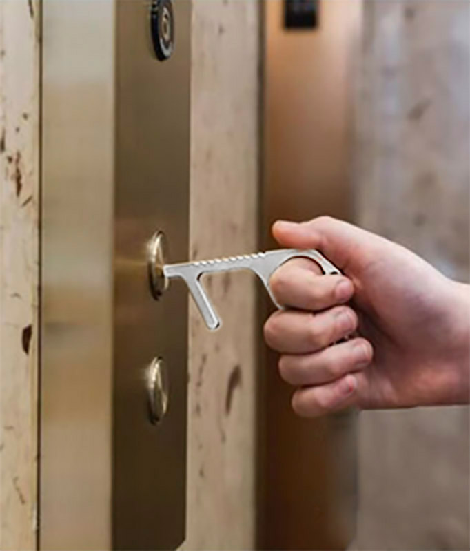 Přívěsek na klíče  ANTI-TOUCH OPENER
