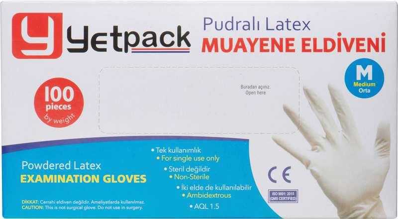 Gloves Krabice s rukavicemi, 100ks L