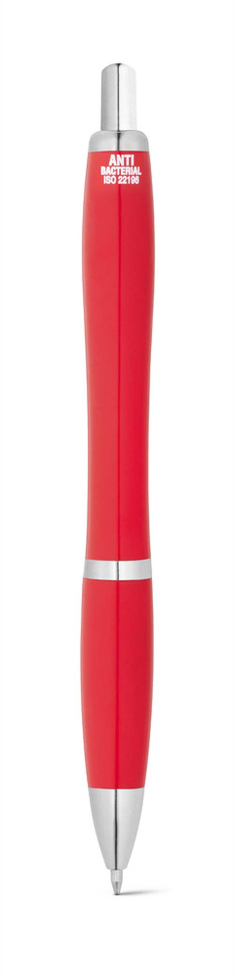 MANZONI. Antibakteriální kuličkové pero z ABS