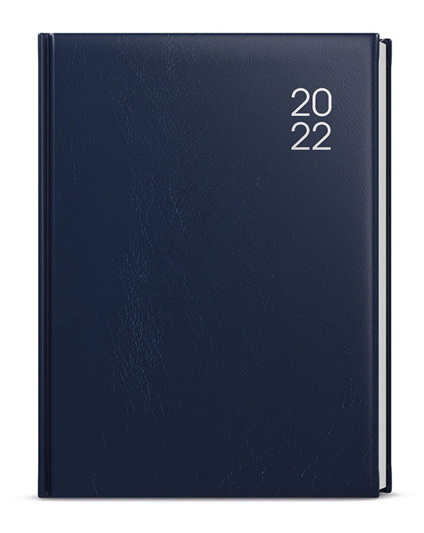 Denní diář - Adam - balacron - B6 - modrá