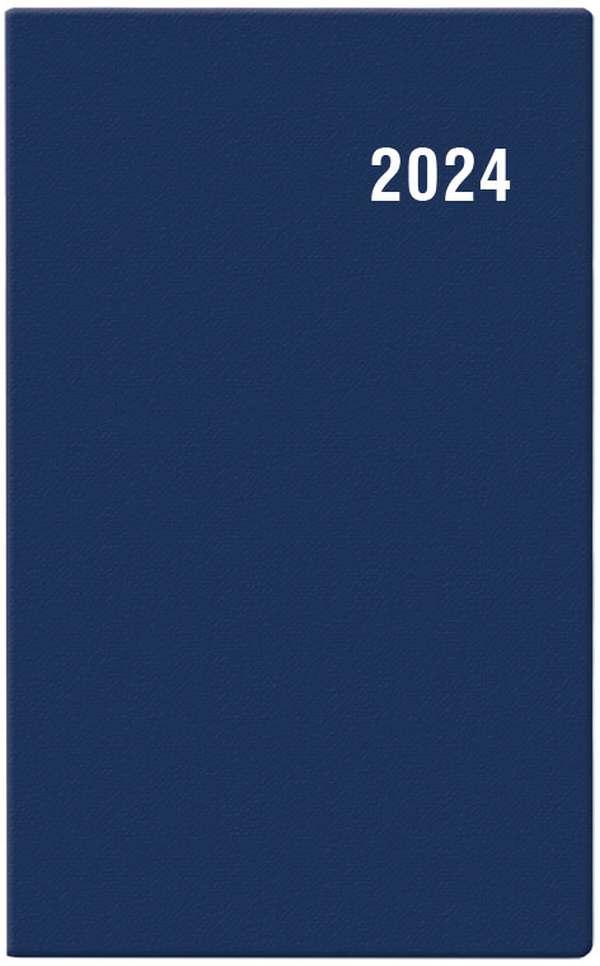 Měsíční diář - Diana - PVC - modrá