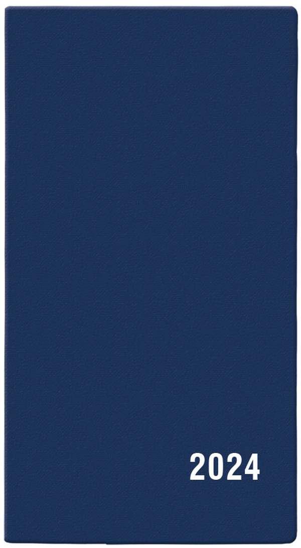 Měsíční diář - Františka - PVC - modrá